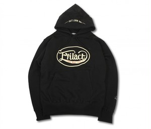 EVILACT(イーブルアクト) / Oval Logo Pullover Hooded Sweatshirt (black)