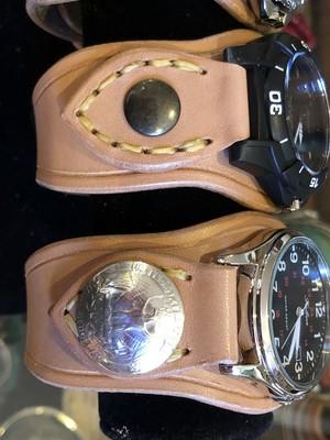 時計カスタム  クォーターダラー 1964年製×2個