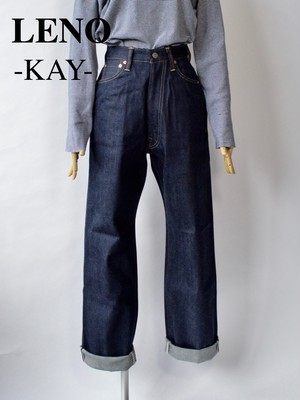 "LENO/リノ・""KAY"" HIGH WAIST JEANS -NON-WASH-"