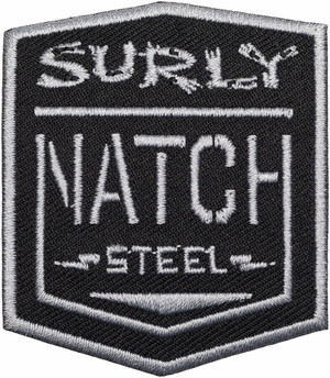 "SURLY ""NATCH PATCH"" BLACK/SILVER"