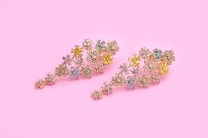 Bonheur Bouquet ( Pierce/ Earrings ) パステル