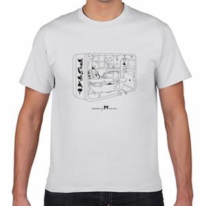 AZYTATE-memory seenコラボロTシャツ白