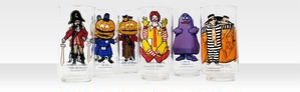 Vintage McDonald's Glasses Set