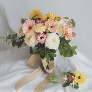 【Rental3泊4日】anemone bouquet & boutonniere