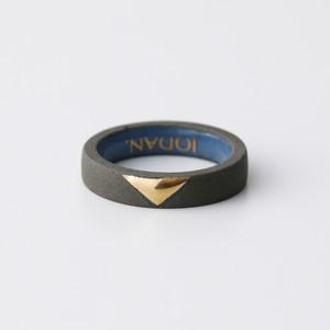 JODAN. aroma ring___Dark Gray(triangle)香りを染み込ませるアロマリング