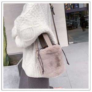 【holiday collection☆】エコファーバケツBAG