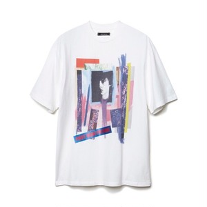 CHRISTIAN DADA - GRAPHIC PRINT T-SHIRT (WHITE) -