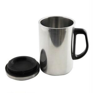蓋付き ステンレス マグカップ 350ml 保温 保冷 フタ付き ふた付き マグボトル シンプル 無地 カフェマグ コーヒーマグ コップ ステンレス製 コーヒーカップ 取っ手付き シルバー おしゃれ cw-a-3762