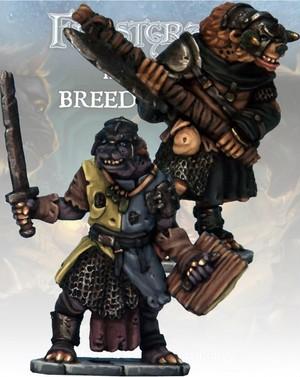 ノールの騎士&宗教騎士(Gnoll Knight & Templar)