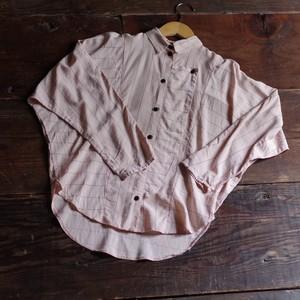 80's Striped Shirt / ドルマンスリーブ ストライプ デザイン シャツ