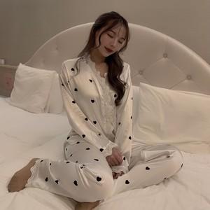 ❤︎ satin heart room wear