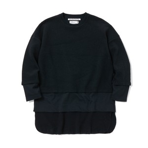 TRIPLE LAYER LONG SLEEVE T-SHIRT - BLACK