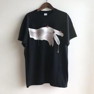 3RENSA(Merzbow.duenn.Nyantora) - REDRUM T-Shirt BLACK