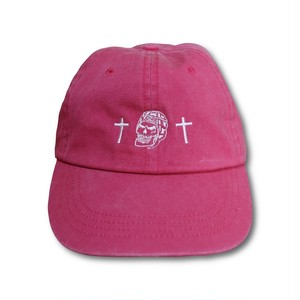 RUGBY SKULL Low Cap Pink