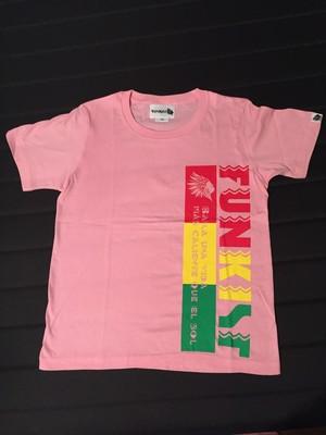 FUNKIST LOGO TEE-SHIRT  丸首kidsサイズ(150)
