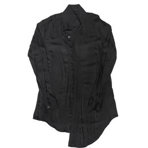 007SHM13-BLACK / スライドシャツ