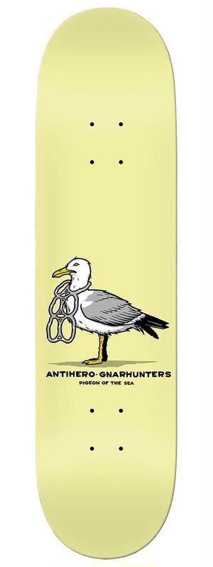ANTIHERO x GNARHUNTERS  DECK 8.28 x 31.7