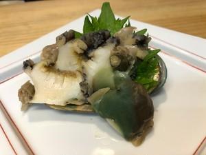昆布出汁炊き上げ韓国養殖アワビ5枚入【小】業務用使用