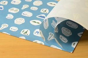 とうや小紋 包装紙帖 HOLIDAY MARKET TOYA ×星燈社