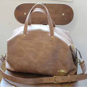 2way Boston Bag / SAND BEIGE