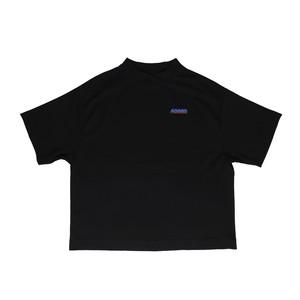 GLITCH LOGO T-SHIRTS / BLACK