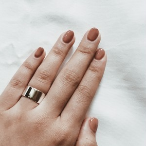 Silver925 slim simple ring