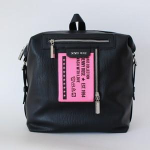 DENNY ROSE スクエアレザーリュック:021ND90014 ¥26,000+tax