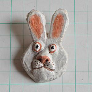 ブローチ B115 ウサギ