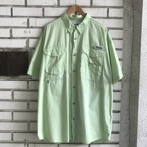 USED COLUMBIA PFG COTTON S/S SHIRT