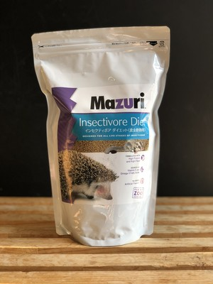 Mazuri  食虫動物用フード ハリネズミ フクロモモンガ  1kg  オールステージ ペットフード ブリーダー