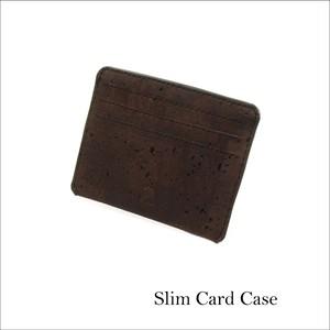 VEGAN CARD CASE  BROWN / カードケース 茶 コルク製