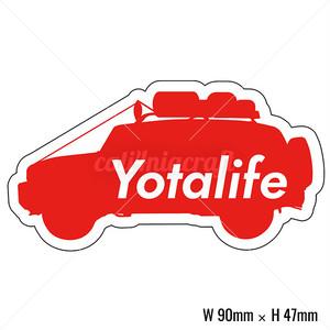 ステッカー Yotalife C4C-ST203