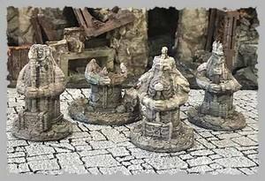 ドワーフの石像セット