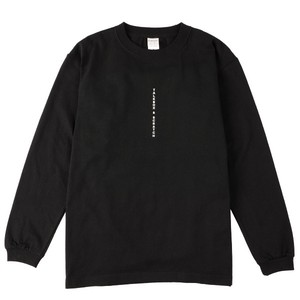 I woke Up L/S T-shirt【黒】