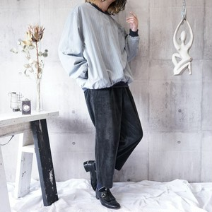 check pattern poly pullover
