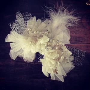 bridal ✴︎イヤーフック✴︎ヘアアクセサリー
