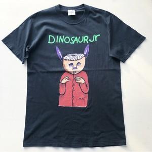 90s ダイナソーjr Tシャツ 黒 表記 (L)