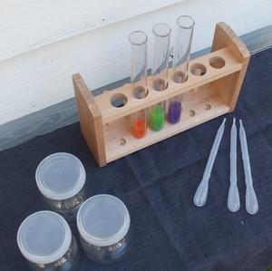 色水実験セット(説明本・確認シート付)