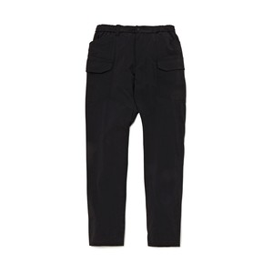 SIDE BIG POCKET PANTS - BLACK