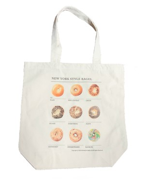 NEW NEW YORK CLUB / NEW YORK STYLE BAGEL TOTE BAG