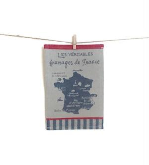 ミニティータオル フローマージュ・ド・フランス 約21x16(cm)