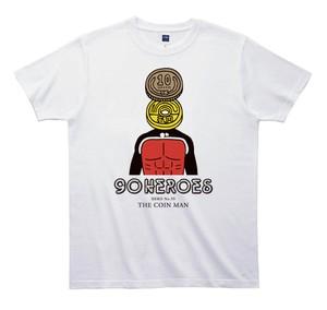 《JUN OSONTシャツ》90HEROES TJC059/ 【硬貨マン】
