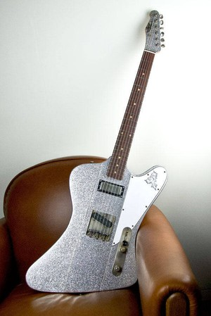 """RS Guitarworks """" TeeByrd 60′s / Silver Sparkle / Matching Head / Heavy+++ """""""