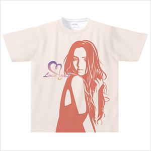 【受注発注商品】Love me? ドライTシャツ(ピンク) Lサイズ