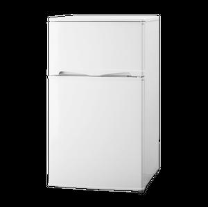 アテナル ATENARU 96L 2ドア冷蔵庫(直冷式)ホワイト AT-96W 直冷式冷凍冷蔵庫