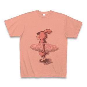 T022_Salmon pink 「Surfing rabbit」