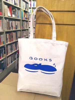 BOOKS青いカバ トートバック
