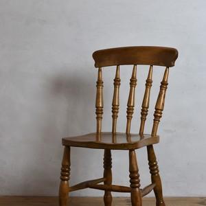 Kitchen Chair / キッチン チェア【C】〈ダイニングチェア・ウィンザーチェア・デスクチェア・椅子・カントリー・アンティーク・ヴィンテージ〉112320