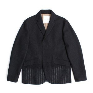 Needle mixing jacket -Black