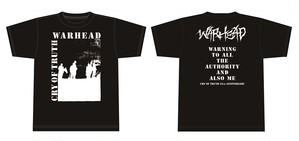 WARHEAD / CRY OF TRUTH Tシャツ(受注生産/6月14日まで受付)